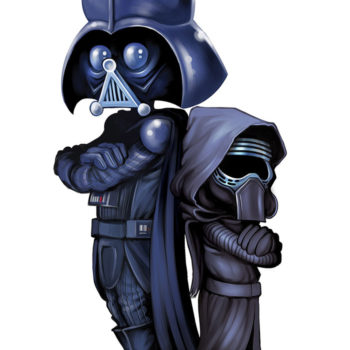 Lord vader and Kylo Ren
